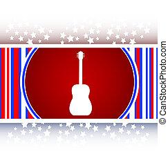 Guitar - icon button