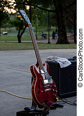 Guitar intermission - Guitar at sunset