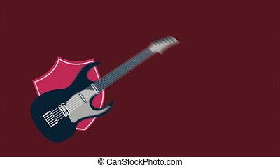 Guitar - Music Animation, HD 1080