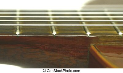Guitar neck, a camera drive