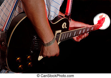 Guitar Performance - music band - Electric Guitar...