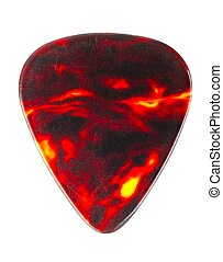 Guitar Pick - Guitar pick isolated on white background