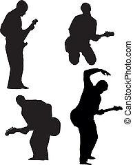 Guitar players