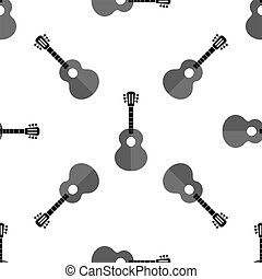 Guitar Seamless Background