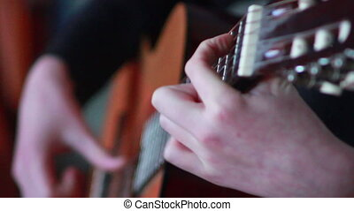 guitar speler