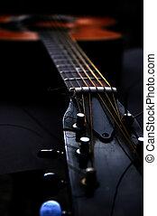 Guitar - Old acoustic guitar