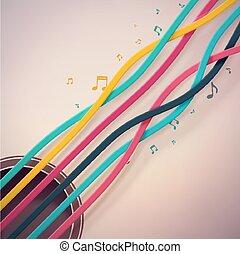 Guitar Strings, eps 10