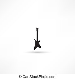 Guitar - vector illustration