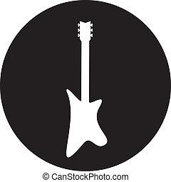 Guitar - vector illustration