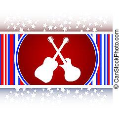 Guitar web icon button