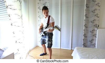 guitare, 8, jouer