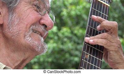 guitare, acoustique, frette
