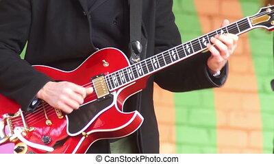guitare, concert musique
