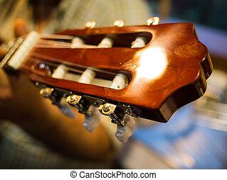 guitare, espagnol