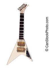 guitare, instrument, électrique, musical