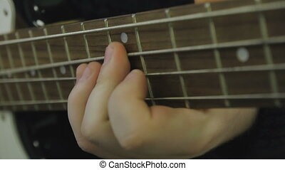 guitare, jeux, basse, homme