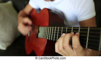 guitare jouer, 4