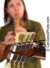 guitare neck