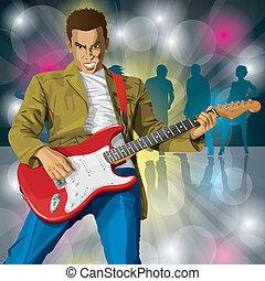 guitare, punk