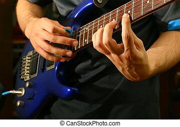 guitare, solo