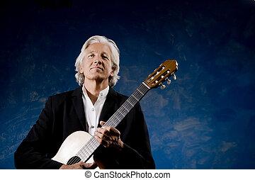 guitarist, 古典である