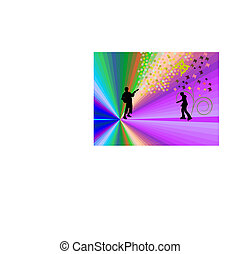 guitarist-rollerblade-silhouette