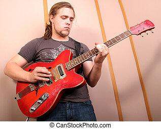 guitariste, studio