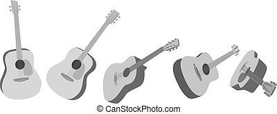 guitarra, acústica