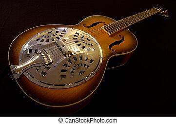 guitarra, acústico, 1
