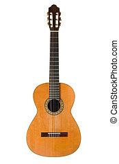 guitarra, acústico, clássico