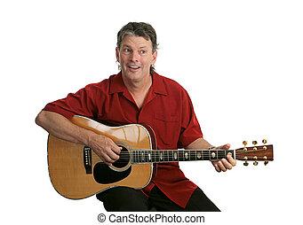 guitarra, artista