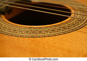 guitarra, cuerdas