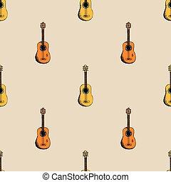guitarra, fundo