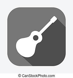 guitarra, icono