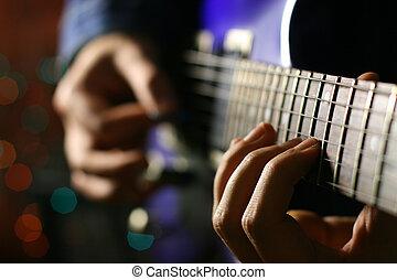 guitarra, solo