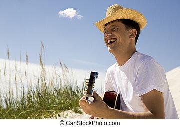 guitarra, sujeito