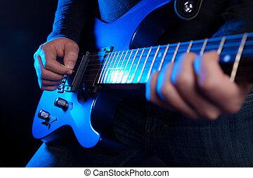 guitarrista, rocha