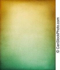 gula gröna, bakgrund