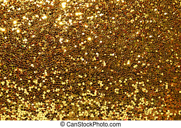 guld, baggrund, glitre