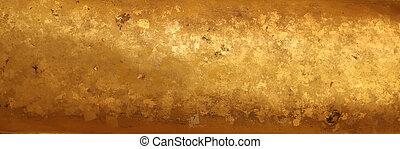guld, bakgrund, struktur