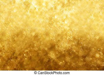 guld, glitre, tekstur, baggrund