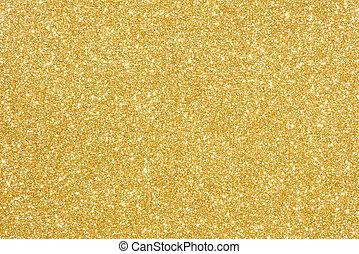 guld, glitter, struktur, abstrakt, bakgrund