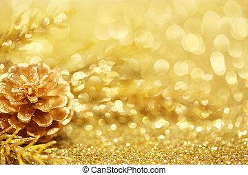 guld, jul, bakgrund