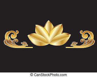 guld, lotus