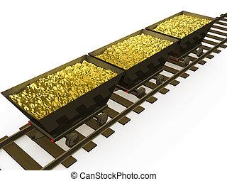 guld mønteter, #1
