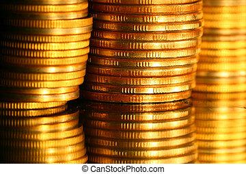 guld mønteter