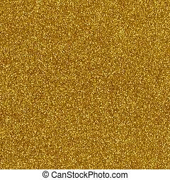guld, makro, uppe, struktur, nära, glitter