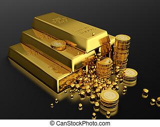 guld, standart