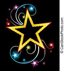 guld stjärna