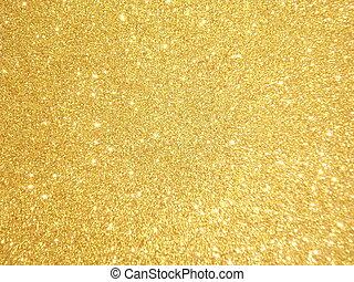 guld tänd, -, lov, bakgrund, jul